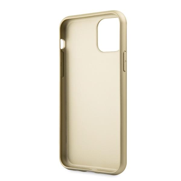 Guess GUHCN61G4GG iPhone 11 szarygrey hard case 4G Collection